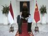 중국 왕이, 백신으로 인도네시아에 구애