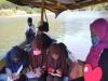 악어 우글대는 인도네시아 오지 여교사 선상수업 '눈길'