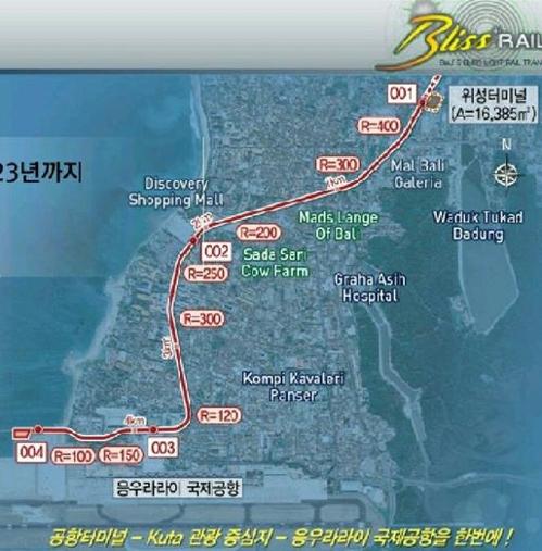 21일 발리 꾸따-공항 경전철 노선도.jpg
